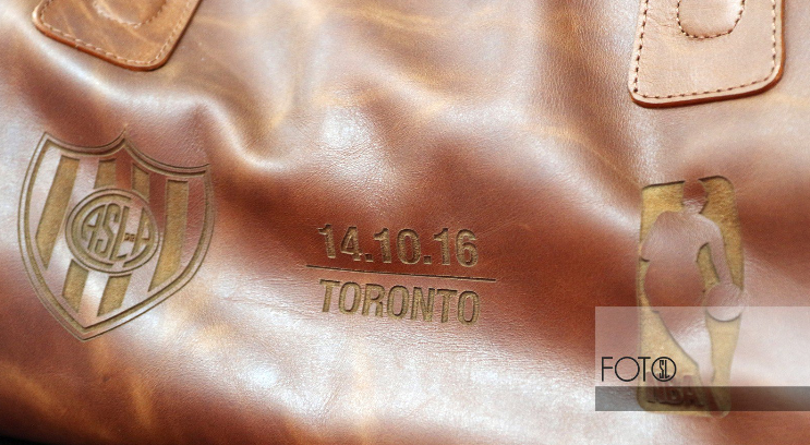 Roque Bags at a ball game in Toronto, <br> Canada