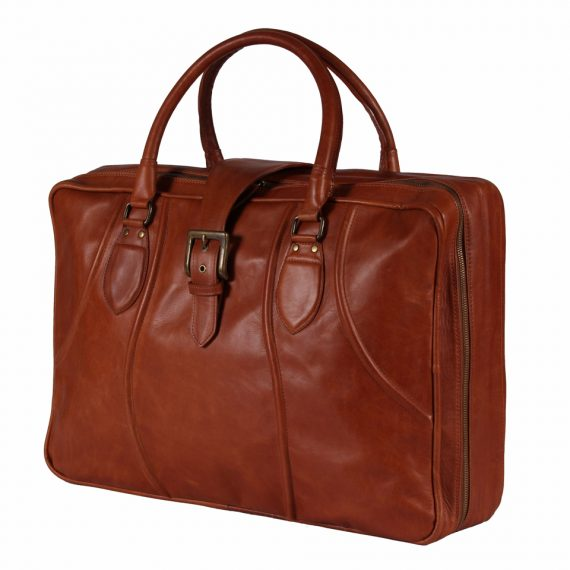 leather suitcase made in argentina
