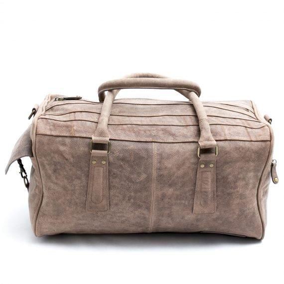 duffle bag leather