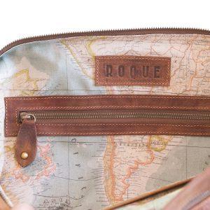 leather duffle bag