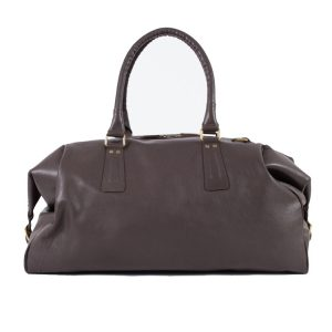 argentina leather duffle bag