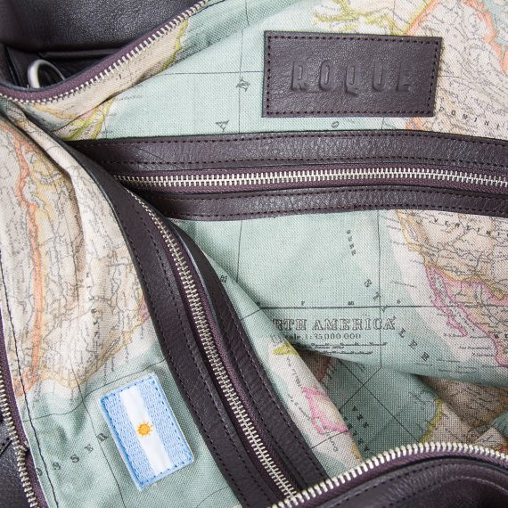 argentine leather duffle bag
