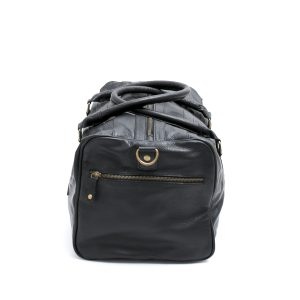 leather small duffle bag