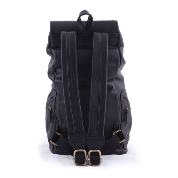 leather bags backpack bag Black in argentina