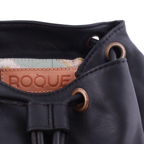 leather bags backpack bag Black in argentina