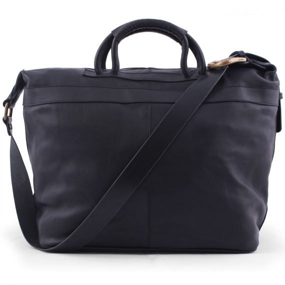 leather bags weekender bag black in argentina