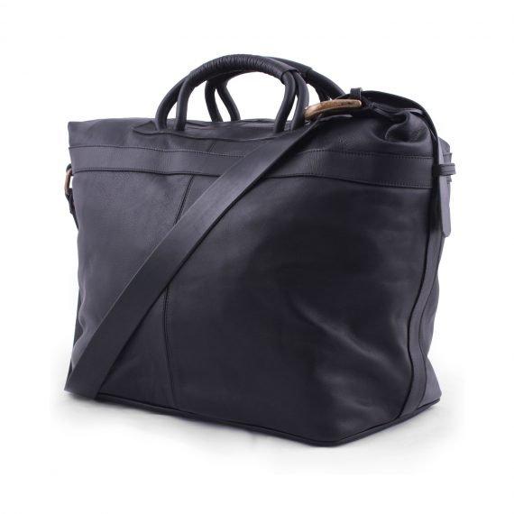 leather bags weekender bag black in argentina