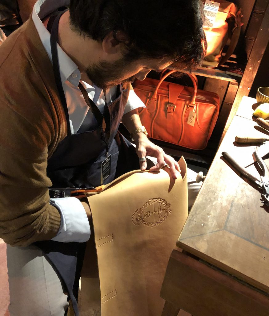 argentine leather bag