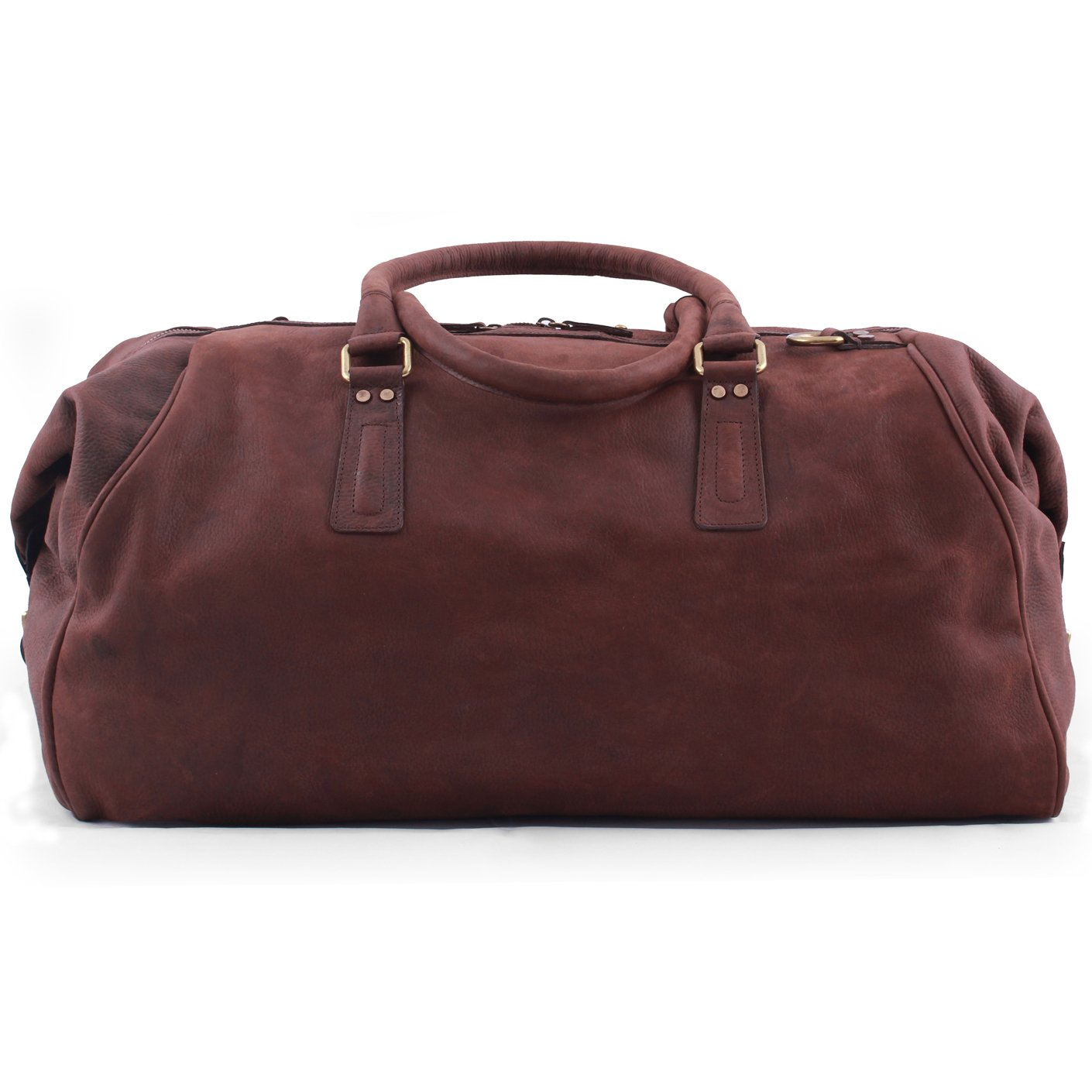 Pampa Vintage Brown Large Duffel Bag