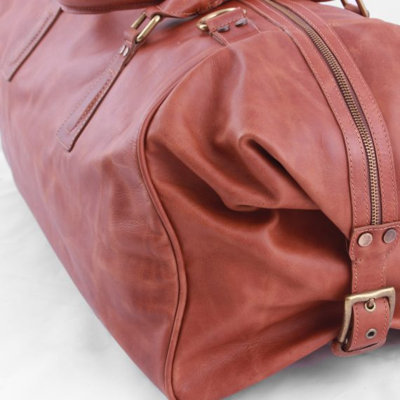 leather bags duffle bag Tan in argentina