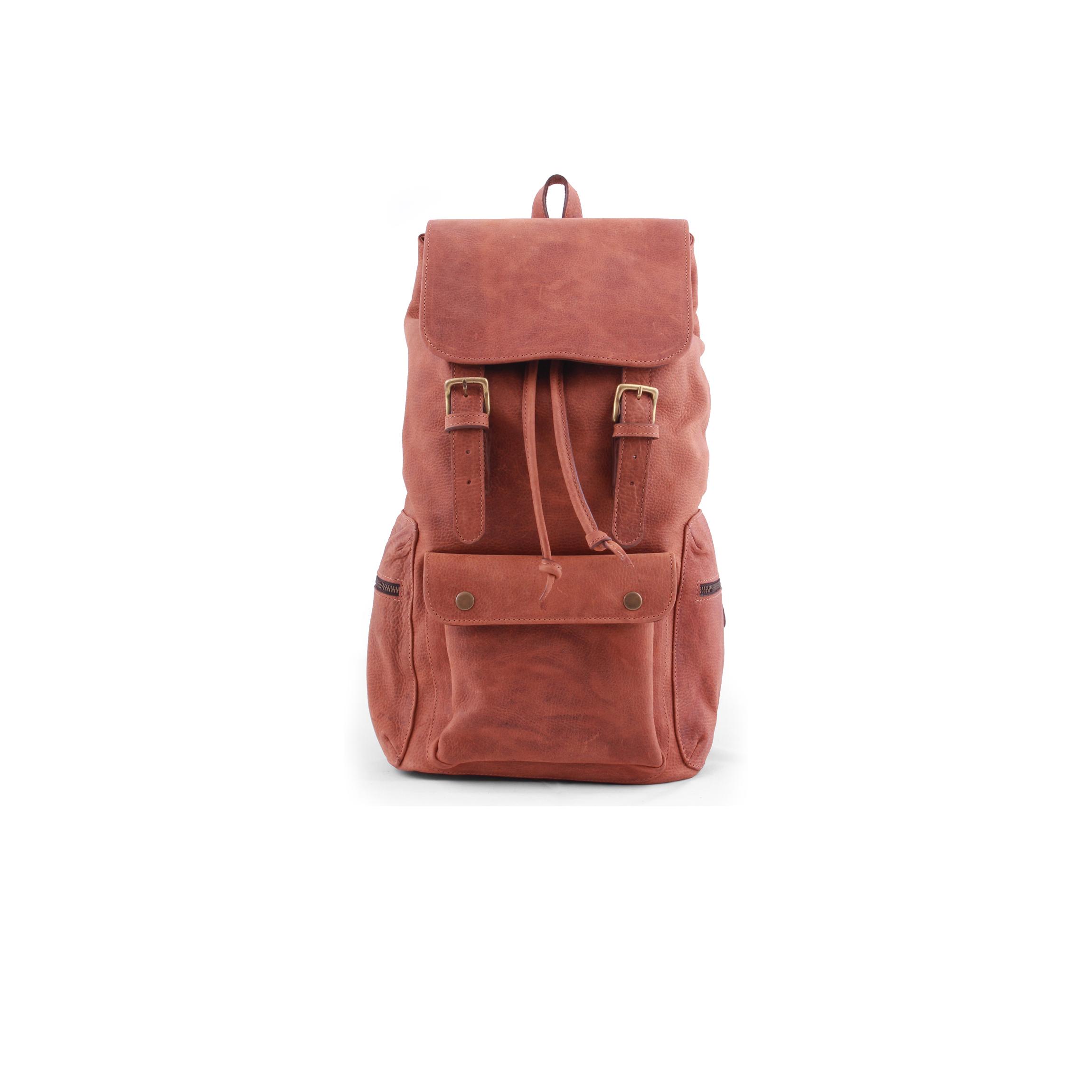 salta vintage suela leather backpack