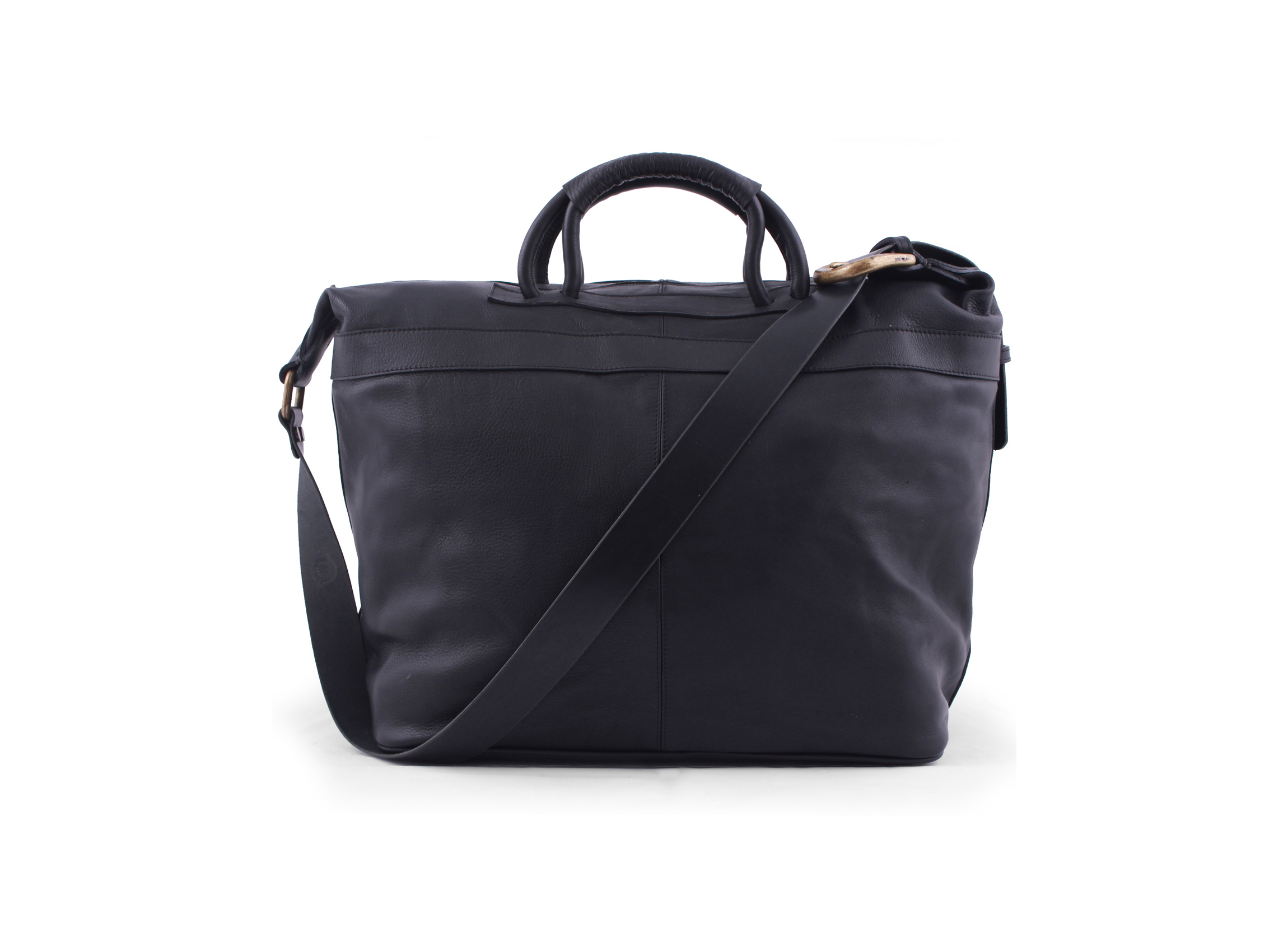 San Telmo Puro Suela Leather Weekender Bag