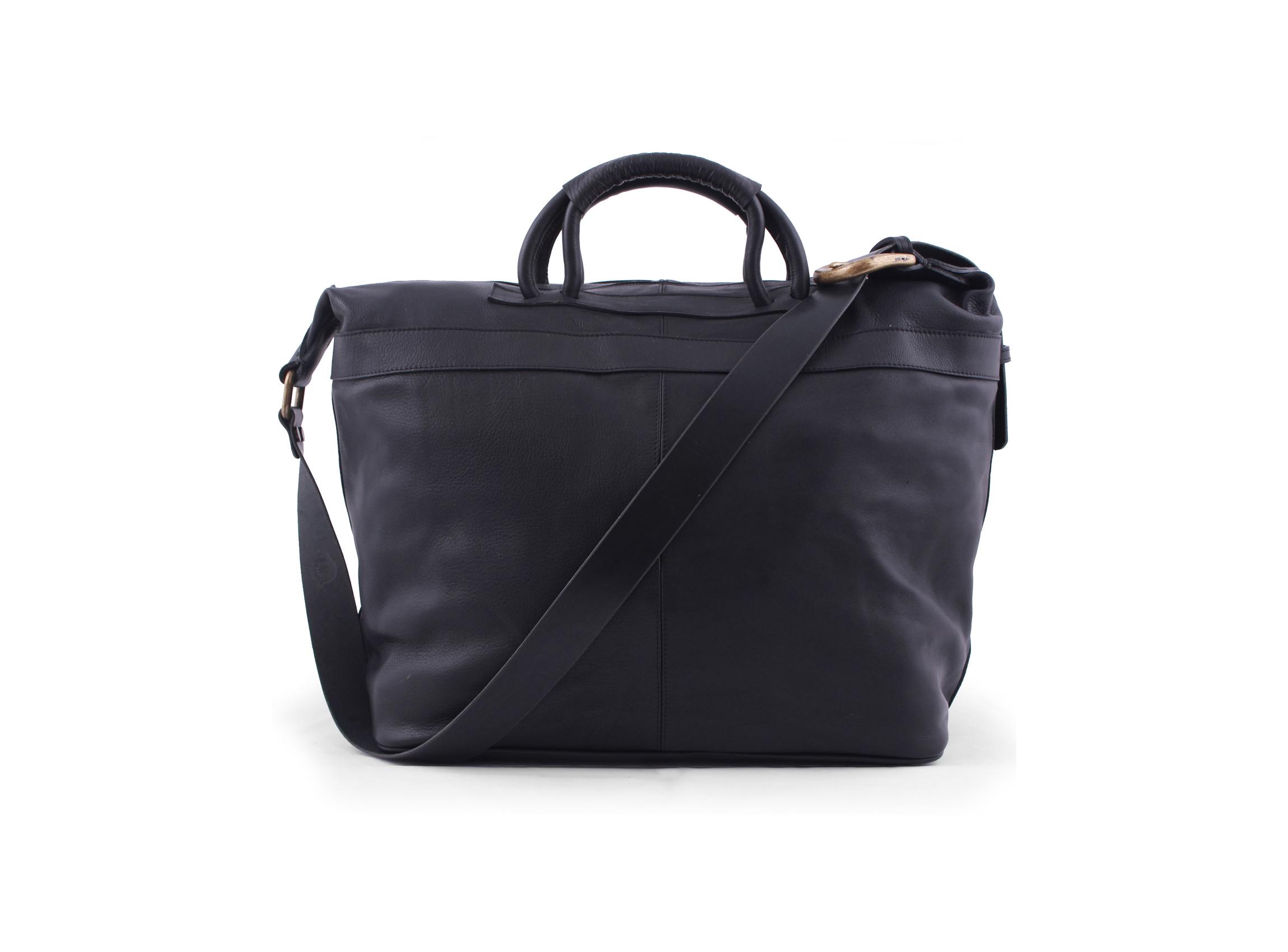 San Telmo Puro Suela Leather Weekender Bag